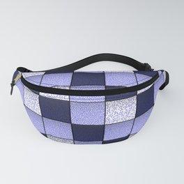 Blue Spotty Tiles Fanny Pack