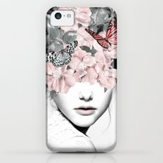 WOMAN WITH FLOWERS 10 iPhone 5c Slim Case