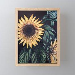 Sunflower Life Framed Mini Art Print