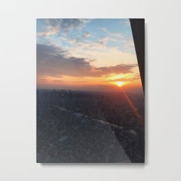 View from Tokyo Skytree Metal Print