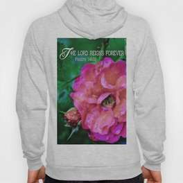 Fuchsia Flower With Raindrops Hoody