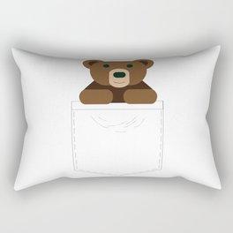 Pocket Bear Partner Rectangular Pillow