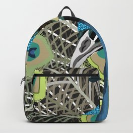 Hank the Peacock Backpack