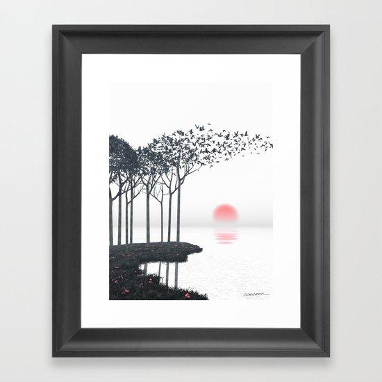 Aki Framed Art Print