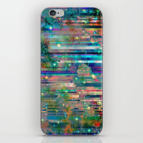 Space Glitch iPhone & iPod Skin
