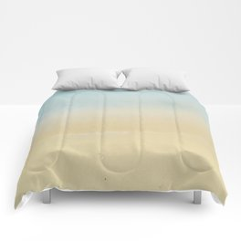 Abstract Beach Comforters