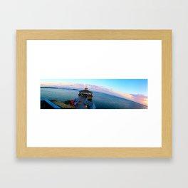 Outer Banks Sunset Framed Art Print