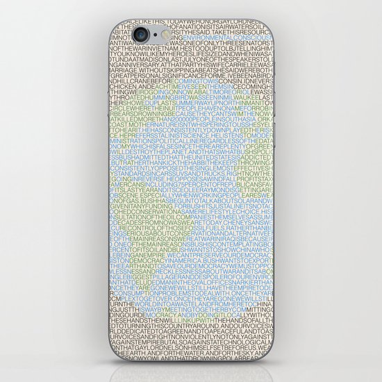Environmental Consciousness iPhone & iPod Skin