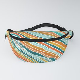 Tulum Summer Abstract Fanny Pack