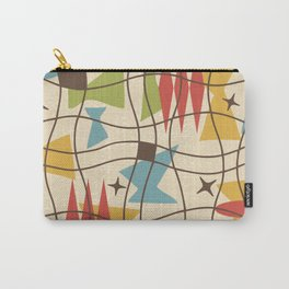 Mid Century Modern Abstract Pattern 571 Carry-All Pouch