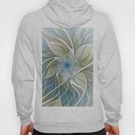 A Floral Dream, Abstract Fractal Art Hoody
