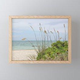 Beach Foilage Framed Mini Art Print
