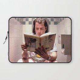 Pulp Fiction Movie Poster - Vincent Vega Print - Funny Bathroom Laptop Sleeve