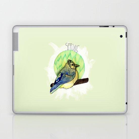 Spring birdy / Nr. 6 Laptop & iPad Skin