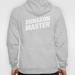 DnD Dungeon Master Minimalist Dungeons and Dragons Inspired Tabletop RPG Gaming Hoody