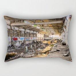 Packard Plant Rectangular Pillow