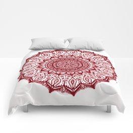 Mistletoe-Garnet Comforters