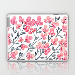 Cherry Blossoms – Pink & Black Palette Laptop & iPad Skin