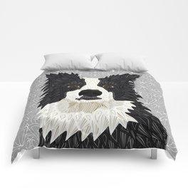 Beautiful Border Collie Comforters