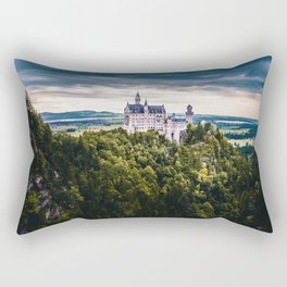Castle on the Hill (Color) Rectangular Pillow