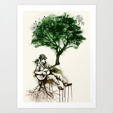 'In the rhythm of nature' Art Print