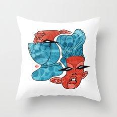 Models. Throw Pillow