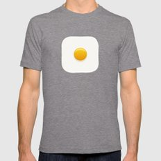 Good Morning, Sunshine Mens Fitted Tee LARGE Tri-Grey
