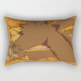 Giraffe Love Rectangular Pillow