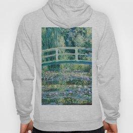 1899-Claude Monet-Water Lilies and Japanese Bridge Hoody
