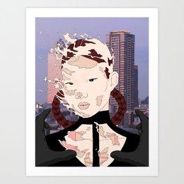 """""""A Violent Rebirth"""" Art Print"""