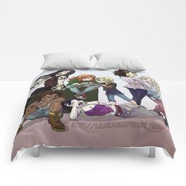 Mortal Instruments Ladies Comforters