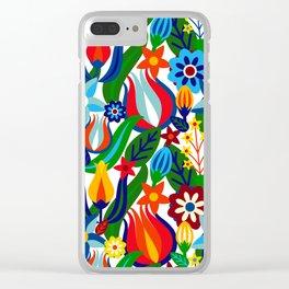 Turkish garden Clear iPhone Case