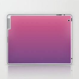 Bright Pink Ultra Violet Gradient | Pantone Color of the year 2018 Laptop & iPad Skin