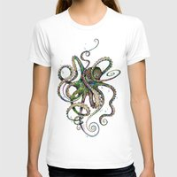 T-shirts featuring Octopsychedelia by TAOJB