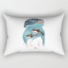 Magic in my head Rectangular Pillow