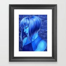Lapis Framed Art Print