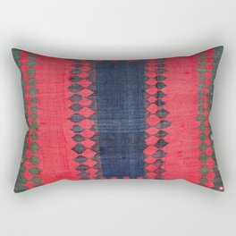 Azeri Azerbaijan South Caucasus Sofreh Print Rectangular Pillow