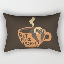 But First Coffee Rectangular Pillow