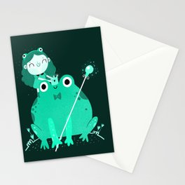 King frog Stationery Cards