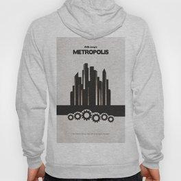 Fritz Lang's Metropolis Alternative Minimalist Poster Hoody