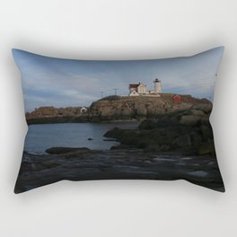 Maine Lighthouse Rectangular Pillow