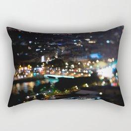 Paris Bokeh Lights - TiltShift Rectangular Pillow
