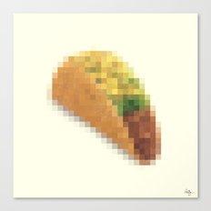 Censored Mexican Dish Canvas Print