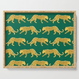 The New Animal Print - Emerald Serving Tray