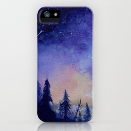 The Blue Hour iPhone Case