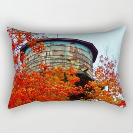 Water Tower in the Trees Rectangular Pillow