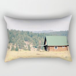 Life is Better at the Cabin Rectangular Pillow