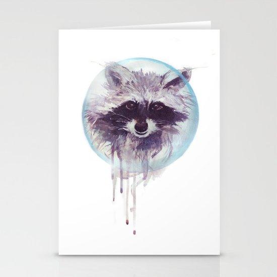 Hello Raccoon! Stationery Cards