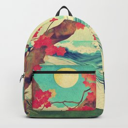 Waking to the Wild and Beautiful Ocean of Dhin Backpack