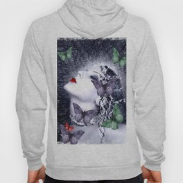 Women and butterfly dream Hoody
